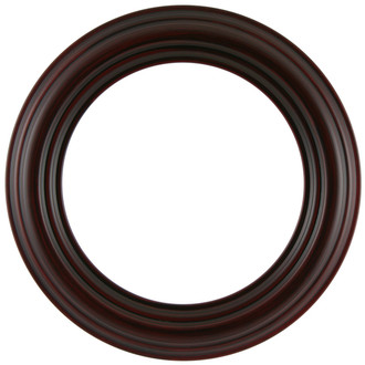 Regalia Round Frame # 799 - Black Cherry