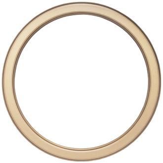 Toronto Round Frame # 810 - Desert Gold