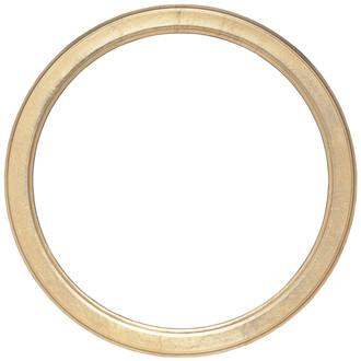 Toronto Round Frame # 810 - Gold Leaf