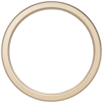 Toronto Round Frame # 810 - Gold Spray