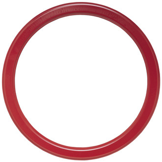 Toronto Round Frame # 810 - Holiday Red