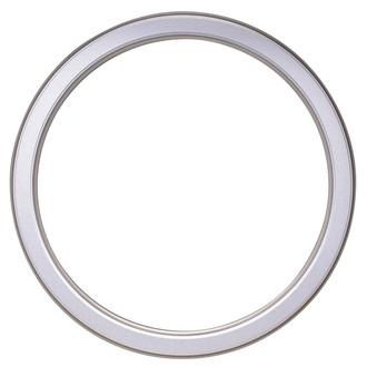 Toronto Round Frame # 810 - Silver Shade