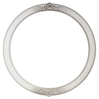 Athena Round Frame # 811 - Taupe