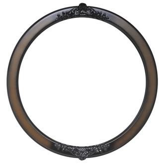 Athena Round Frame # 811 - Walnut