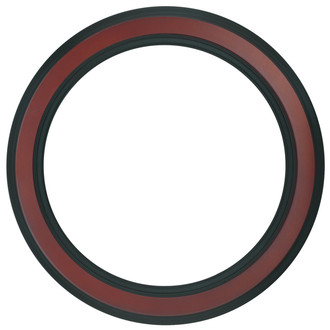 Wright Round Frame # 820 - Rosewood