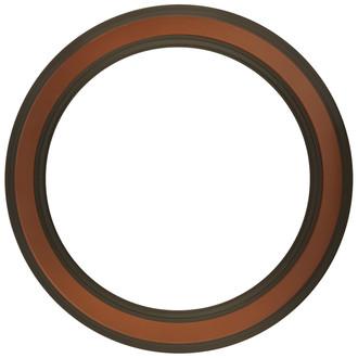 Wright Round Frame # 820 - Walnut