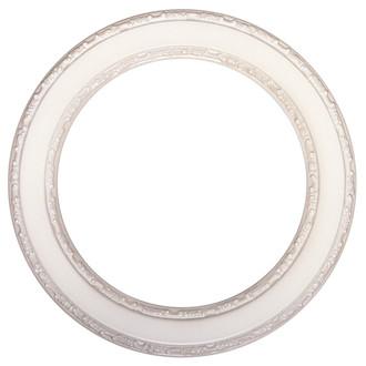Monticello Round Frame # 822 - Taupe