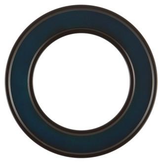 Montreal Round Frame # 830 - Royal Blue