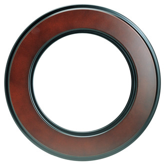 Montreal Round Frame # 830 - Rosewood