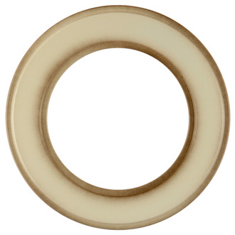 Montreal Round Frame # 830 - Taupe