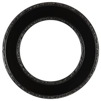 Paris Round Frame # 832 - Matte Black