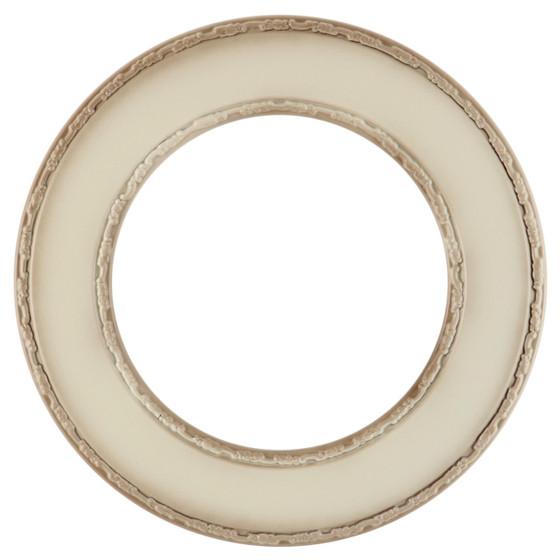 Paris Round Frame # 832 - Taupe
