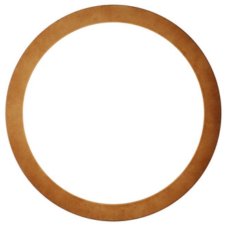 Manhattan Round Frame # 851 - Burnished Gold