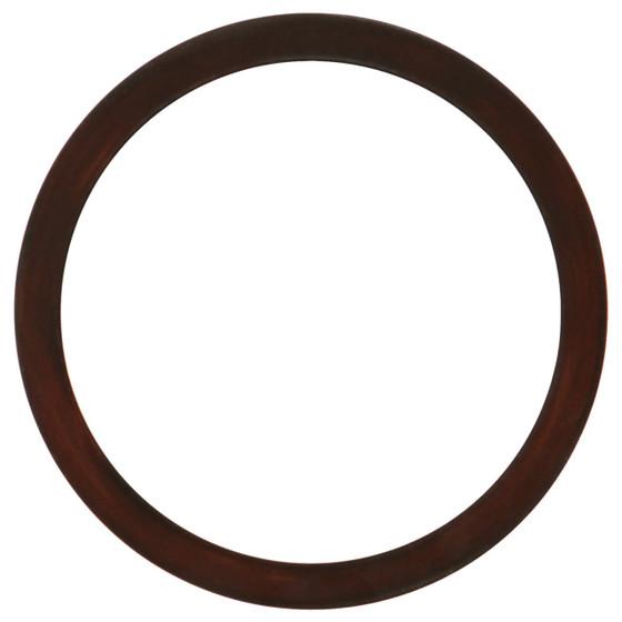 Manhattan Round Frame # 851 - Mocha