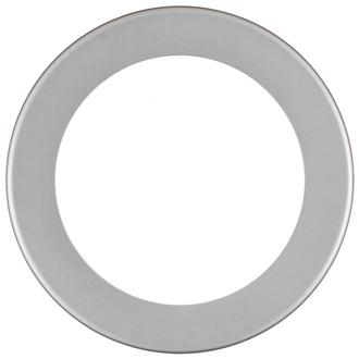 Avenue Round Frame # 862 - Bright Silver