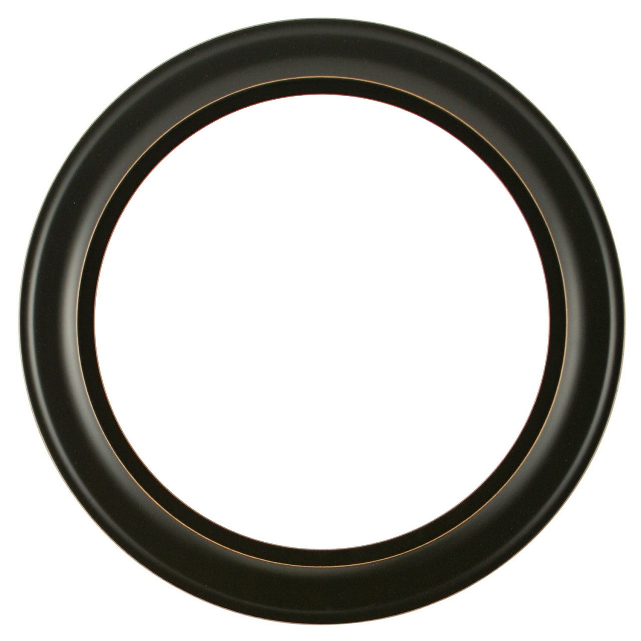 be8199d3854 Round Frame in Rubbed Black Finish