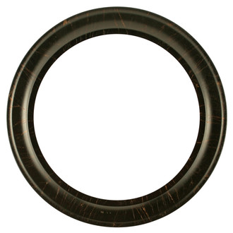 Messina Round Frame # 871 - Veined Onyx