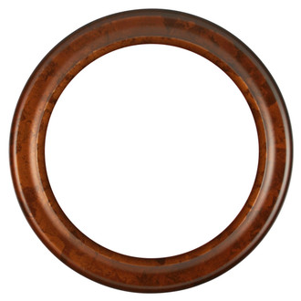 Messina Round Frame # 871 - Venetian Gold