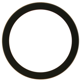 Vienna Round Frame # 481 - Rubbed Black