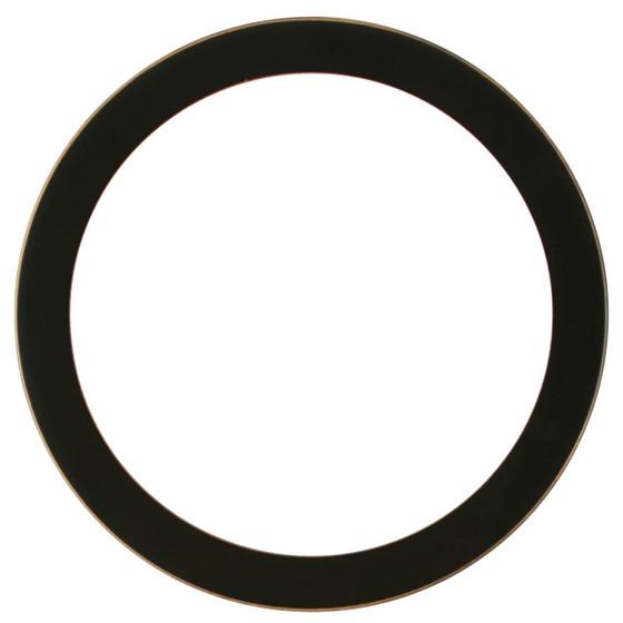 Vienna Round Frame # 481 - Rubbed Black