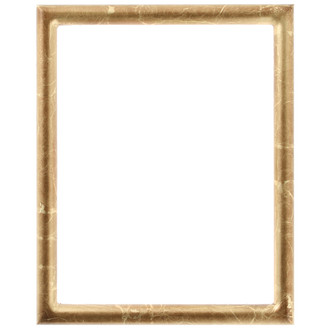 Pasadena Rectangle Frame # 250 - Champagne Gold