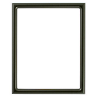 Pasadena Rectangle Frame # 250 - Matte Black