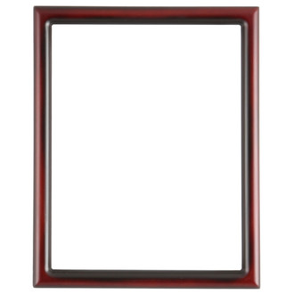 Pasadena Rectangle Frame # 250 - Rosewood