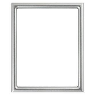 Pasadena Rectangle Frame # 250 - Silver Spray