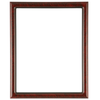 Pasadena Rectangle Frame # 250 - Vintage Cherry