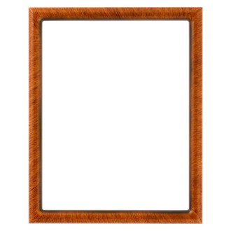 Pasadena Rectangle Frame # 250 - Vintage Walnut