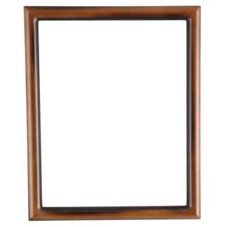 Pasadena Rectangle Frame # 250 - Walnut