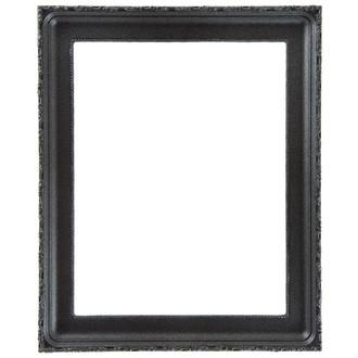 Kensington Rectangle Frame # 401 - Black Silver