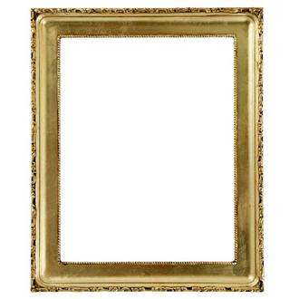 Kensington Rectangle Frame # 401 - Gold Leaf