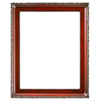 Kensington Rectangle Frame # 401 - Rosewood