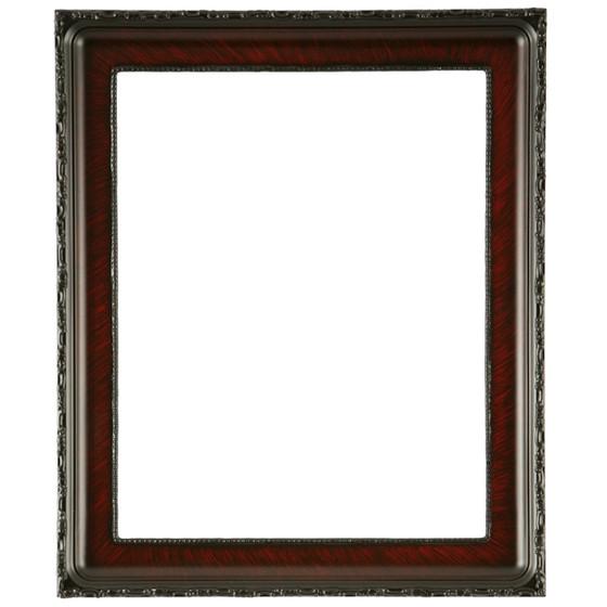 Kensington Rectangle Frame # 401 - Vintage Cherry