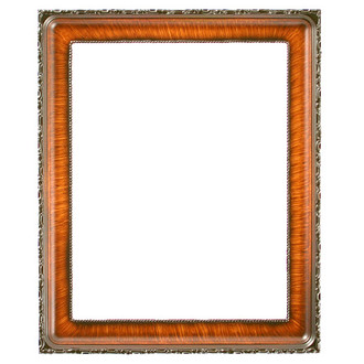 Kensington Rectangle Frame # 401 - Vintage Walnut