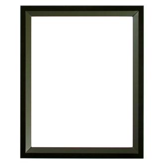 Huntington Rectangle Frame # 421 - Matte Black