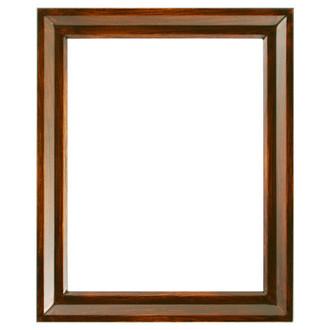 Newport Rectangle Frame # 422 - Mocha