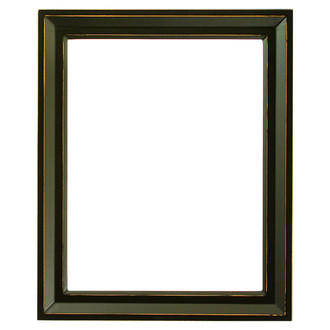 Newport Rectangle Frame # 422 - Rubbed Black