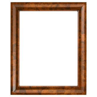 Newport Rectangle Frame # 422 - Venetian Gold