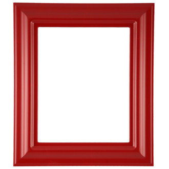 Lancaster Rectangle Frame # 450 - Holiday Red