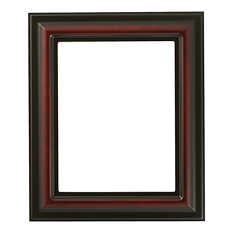 Lancaster Rectangle Frame # 450 - Rosewood