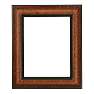 Lancaster Rectangle Frame # 450 - Vintage Walnut