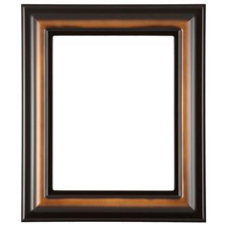 Lancaster Rectangle Frame # 450 - Walnut