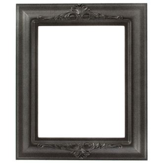 Winchester Rectangle Frame # 451 - Black Silver