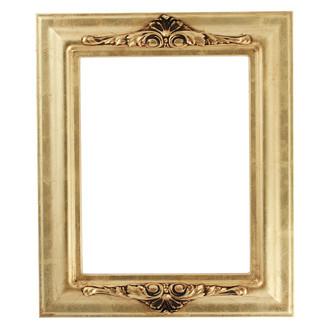 Winchester Rectangle Frame # 451 - Gold Leaf
