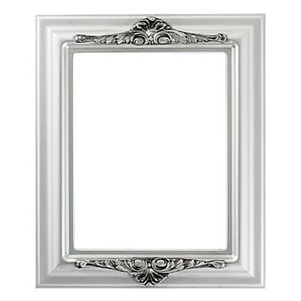 Winchester Rectangle Frame # 451 - Silver Spray