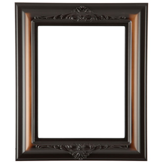 Winchester Rectangle Frame # 451 - Walnut