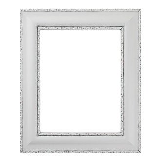 Somerset Rectangle Frame # 452 - Linen White