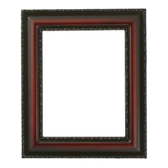 Somerset Rectangle Frame # 452 - Rosewood